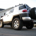 Custom Gobi Stealth Roof Rack and Ladder